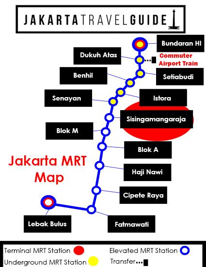 Map mrt jakarta