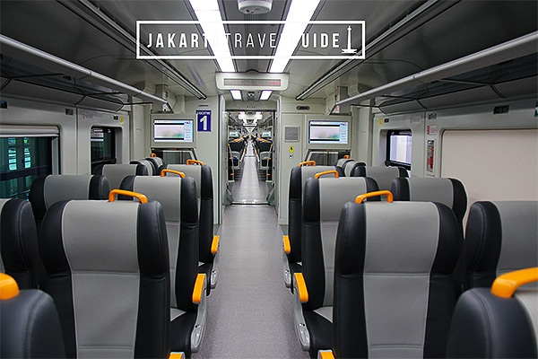 Jakarta Airport Train to Central Jakarta