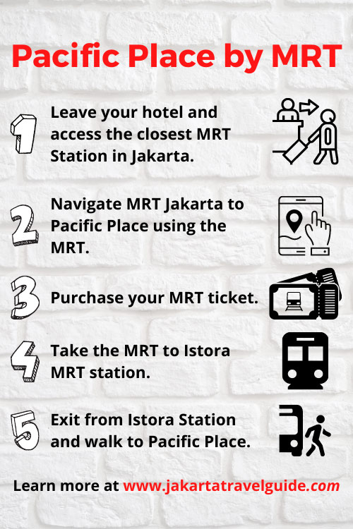 How to get to Pacific Place using the MRT?