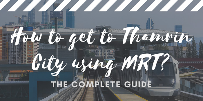 How to get to Thamrin City using MRT?