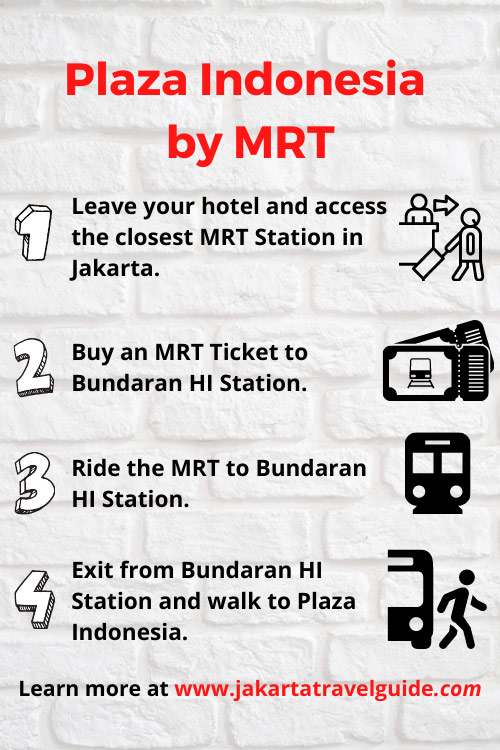 How to get to Plaza Indonesia using MRT?