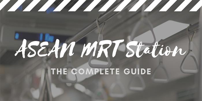 ASEAN MRT Station in Jakarta
