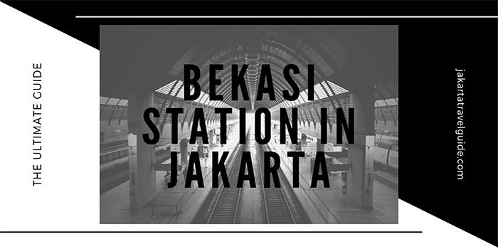 Bekasi Station in Jakarta