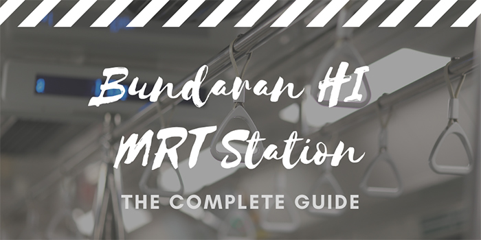 Bundaran HI MRT Station in Jakarta