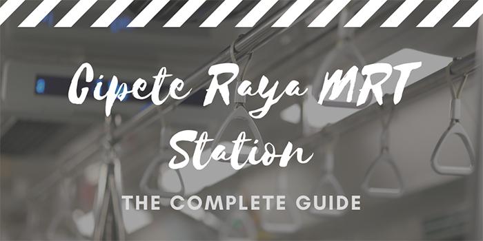 Cipete Raya MRT Station in Jakarta