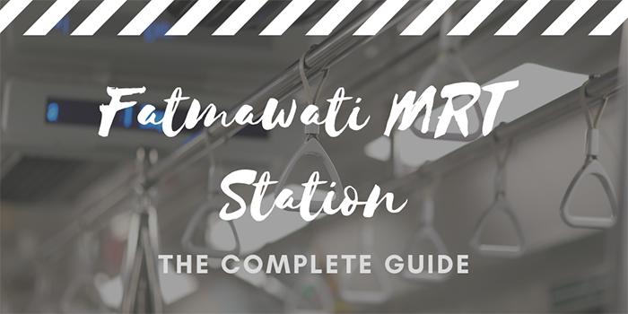 Fatmawati MRT Station in Jakarta