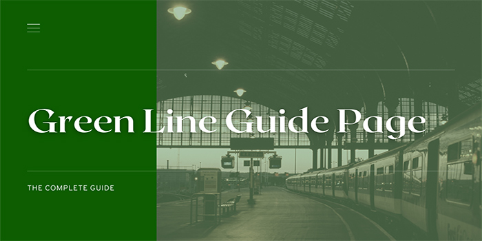 Green Line Guide Page