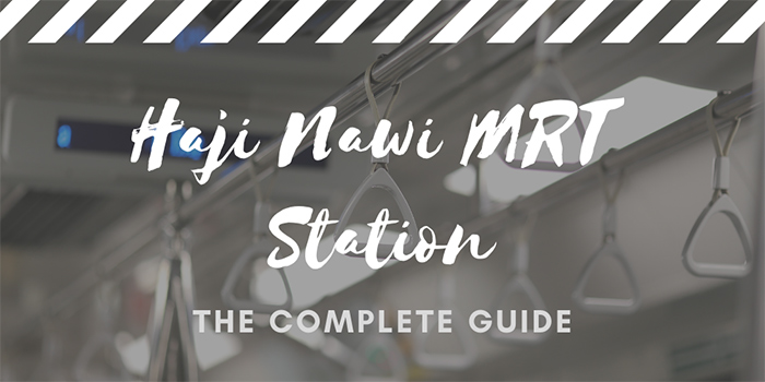 Haji Nawi MRT Station in Jakarta