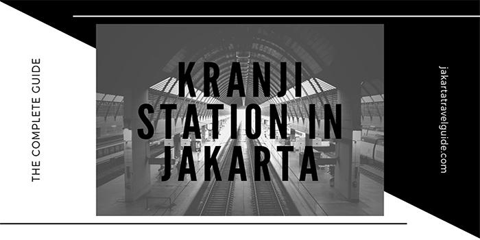 Kranji Commuter Station in Bekasi