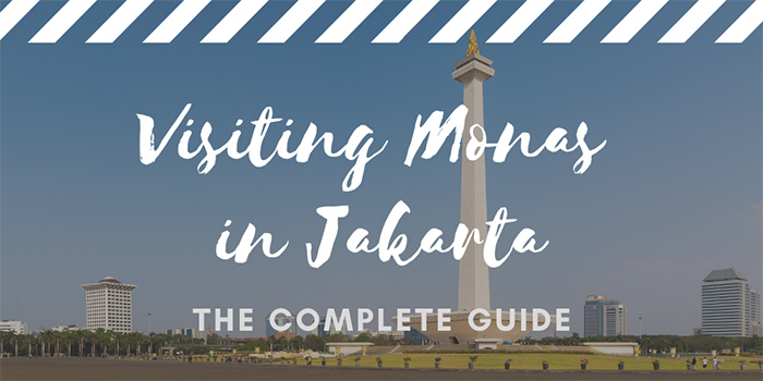 Visiting the Monas Jakarta