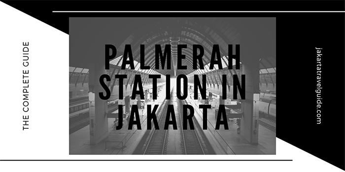 Palmerah Station in Jakarta