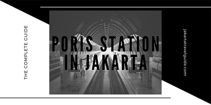 Poris Station in Jakarta