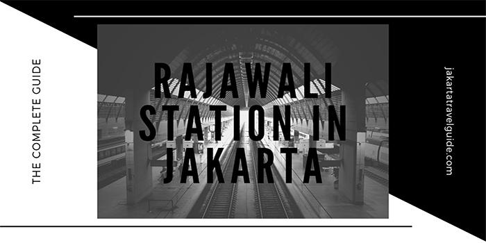Rajawali Station in Jakarta