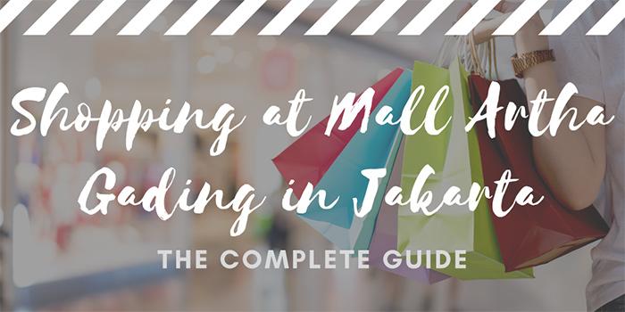 Shopping at Mall Artha Gading in Jakarta