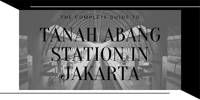 Tanah Abang Station in Jakarta