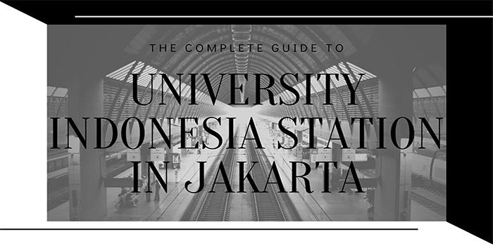 Universitas Indonesia Station in Jakarta