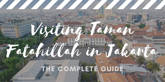Visiting Taman Fatahillah (Fatahillah Square) in Jakarta