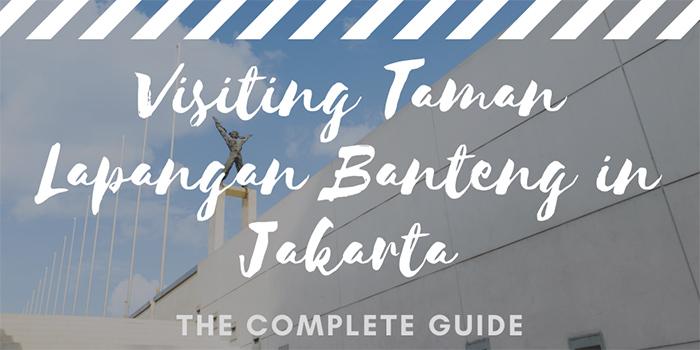 Visiting Taman Lapangan Banteng in Jakarta